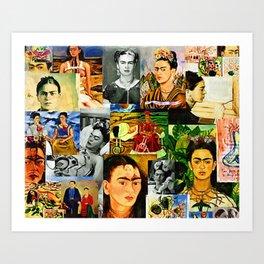 Obsessed with Frida Kunstdrucke
