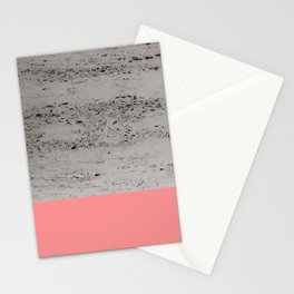 Light Coral on Concrete #2 #decor #art #society6 Stationery Cards