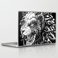 bioworkz Laptop & iPad Skins featuring Lion by BIOWORKZ