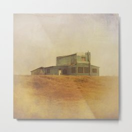 Once Upon a Time a House Metal Print