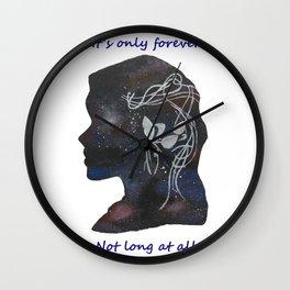 Not Long At All Wall Clock