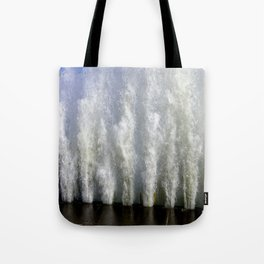 When Sandy Made Waves in Chicago #2 (Chicago Waves Collection) Tote Bag
