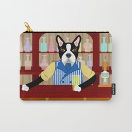 Boston Terrier Beer Pub Carry-All Pouch