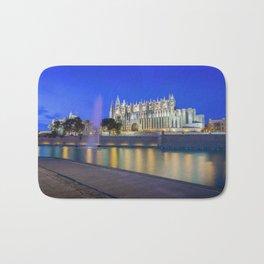 Palma Cathedral,Mallorca,Spain Bath Mat