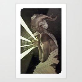 The Anchor Art Print