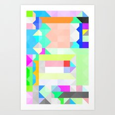 All As One Pattern Art Print