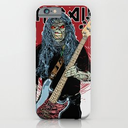 iron maiden album 2021 dede4 iPhone Case