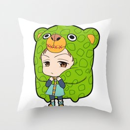 Grizzly's Sin Of Sloth - King Throw Pillow