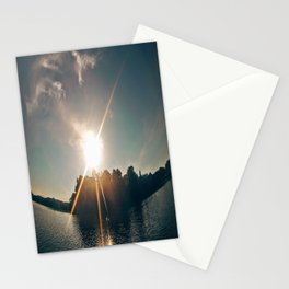 Sunshine on the River Stationery Cards