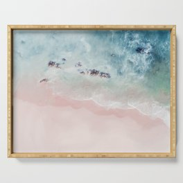 Ocean Pink Blush Serving Tray