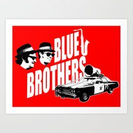 The blues brothers 2 Art Print