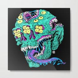 Skull Monster Metal Print