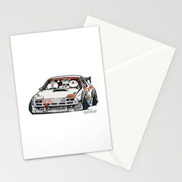 Crazy Car Art 0143 Stationery Cards