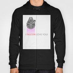 i FALCON love you Hoody