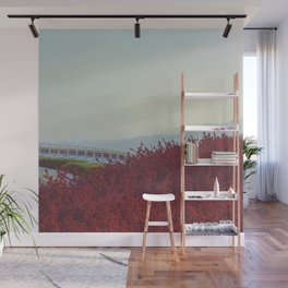 Meeting of Planes Wall Mural