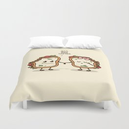 Let's Grow Mold Together Duvet Cover