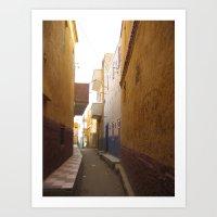 Passage No. 7 in Aswan, Egypt (2005) Art Print