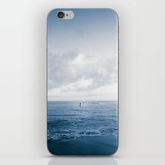 calm day 06 ver.blueblack iPhone & iPod Skin