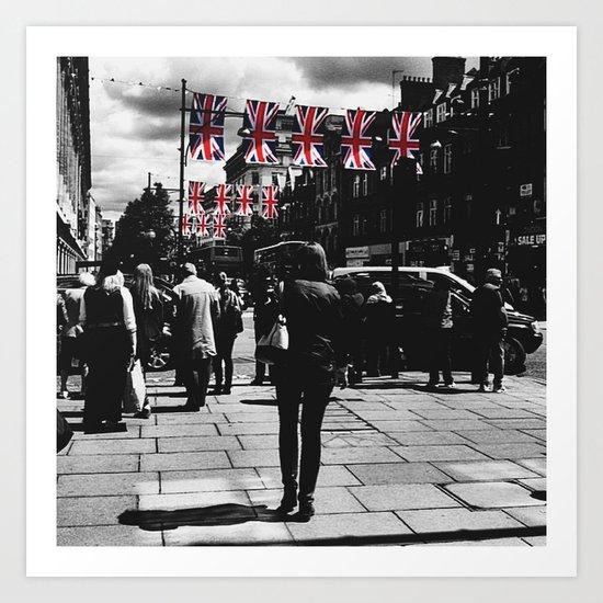 Jubilee Walk Art Print