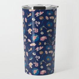Oh daisy floral pattern Travel Mug