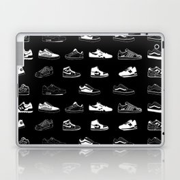 Black Sneaker Laptop & iPad Skin