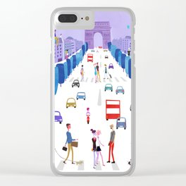 Champs-Élysées Clear iPhone Case