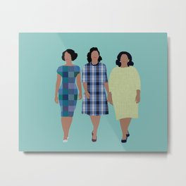 Hidden Figures Metal Print