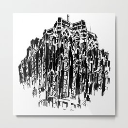 Guardian Building Metal Print