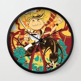 Luwak Coffee Wall Clock