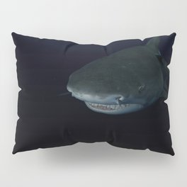 Shark After Dark Pillow Sham