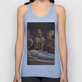 The lesson of anatomy Unisex Tank Top