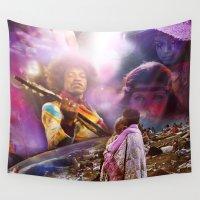 woodstock Wall Tapestries featuring Woodstock 1969 by ZiggyChristenson