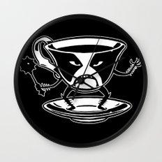 Black tea Wall Clock