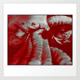 Cthulhu v2 Art Print