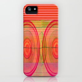 double pink iPhone Case