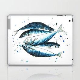 Mackerel - Scomber Scombrus Laptop & iPad Skin