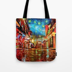 French Quarter Under the Stars Tote Bag