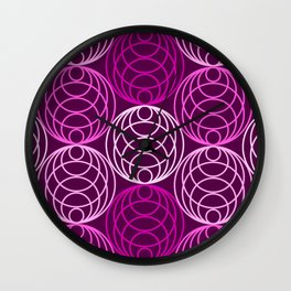 Op Art 145 Wall Clock