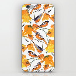 Birds in Autumn iPhone Skin