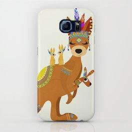 TRIBAL KANGAROO iPhone Case