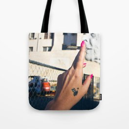 Old Lady Jane Tote Bag