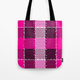 Licorice Bytes, No.14 in Black and Pink Tote Bag