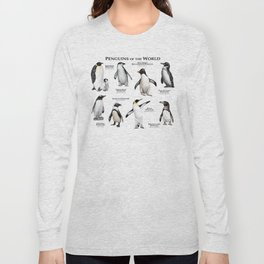 Penguins of the World Long Sleeve T-shirt