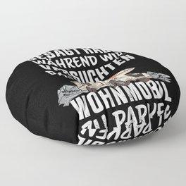 Lustiges Geschenk Wohnmobil Besitzer Floor Pillow
