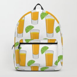 Tequila Shot Pattern Backpack