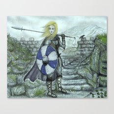 The Shieldmaiden Canvas Print
