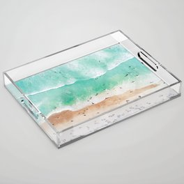 Beach Mood Acrylic Tray