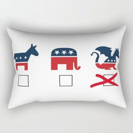 The Dragon Party Rectangular Pillow