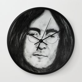 John portrait Wall Clock