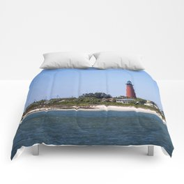 Sunny Day at Ponce Inlet Comforters
